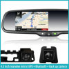 View traseiro Mirror com Car Backup Camera e Construir-em Map