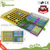 Professsional quadratischer Innentrampoline-Park mit Basketball für Verkauf