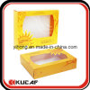 Kosmetisches Paper Packaging Box mit PVC Window