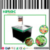Supermarkt-quadratischer Metallförderung-Ausstellungsstand für Frucht
