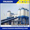 Grande machine de construction de capacité du stockage Hzs180/centrale de traitement en lots concrète