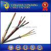 Elevado-temperatura Braided 14AWG Cable do UL Certificated 550deg c
