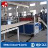 Chaîne de production en carton ondulé d'extrusion de PVC de vis jumelle
