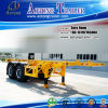 Aotong Brand 2 차축 20ft Container Semi Truck Trailer (LAT9350TJZG)