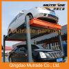 Quatro Post Automotive Parting Garage com ISO9001