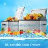 Congélateur de réfrigérateur campant portatif actionné solaire