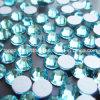 Ss6 Ss8 Ss10 Ss12 Ss16 Ss20 Ss30 vlak AchterBergkristal Bling (fB-Ss12 aquamarijn)