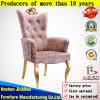 Cadeira real luxuosa do trono do banquete traseiro elevado do hotel para a venda