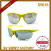 L'extrémité lumineuse de demi de trame de couleur folâtre des lunettes de soleil