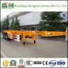 De op zwaar werk berekende 40FT 3 Semi Aanhangwagen van de Container van de As Skeletachtige
