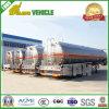 Трейлер топливозаправщика топлива сплава автомобиля неиндивидуального пользования алюминиевый