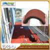 1m x 1m 의 다채로운 재생된 고무 타이어 도와