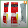 Silver en aluminium Easy Roll vers le haut de Budget Banner Display Stand (TJ-0010)