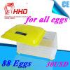 Incubatrice delle quaglie delle uova di controllo di temperatura automatica di Hhd 88