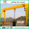La grue à chaînes de 16 tonnes tend le cou la grue de portique de faisceau
