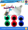 Justierbares Brightness Colorful LED Bulb Lights Bluetooth Speaker mit Remote