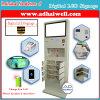 Chiosco mobile della stazione di carico con la visualizzazione della pubblicità dell'affissione a cristalli liquidi di Digitahi