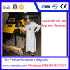 Separatore permanente del timpano magnetico della polvere asciutta per vetro, ceramica, alimento