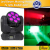 7 X 12W RGBW Osram Beam LED Moving Head
