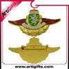Insigne en métal d'or de placage avec la goupille de sécurité
