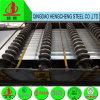 лист толя горячего DIP 0.12mm гальванизированный Corrugated