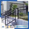 Pasamanos revestidos de las escaleras del hierro labrado del polvo de la alta calidad
