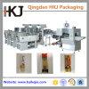 Máquina de empacotamento automática da vara do macarronete com três pesadores