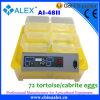 La alta incubadora automática llena más nueva del huevo del reptil de Quelity