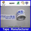 BOPP que ataba con correa la cinta, insignia de encargo imprimió la cinta del embalaje