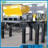 Sola desfibradora de poco ruido de alto rendimiento del eje para el plástico/la madera/el neumático/la espuma/el metal/el animal muerto
