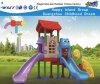Equipamento do campo de jogos das crianças da caraterística do urso para o quintal Hf-16502