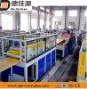 Linha de produção plástica da máquina da extrusora do perfil de PVC/WPC