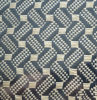 3k aclaran y la fibra del carbón de la tela cruzada tejida con el azul metálico del animal doméstico, hebra, tela tejida fibra roja del poliester del carbón