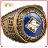 Anillo de campeonato plateado bronce antiguo de encargo de la serie del Super Bowl
