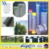 고품질 PVC에 의하여 입히는 체인 연결 담 직접 공장