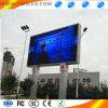 Im Freien farbenreiches Bekanntmachen (LED-Bildschirm)