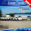 三Axles Double Dolly Skeleton 20FT Container Chassis Superlink Trailer