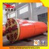A drenagem Npd800 escava um túnel a tubulação que levanta a máquina
