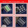 Boucles d'agrafe de fermeture de paires de ceinture de maintien/double boucle paires de vêtement