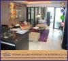 인도 Fushion 알루미늄 Yd0308 Commercial Modern Hotel Furniture Solid Wood/MDF Fabric Sofa Furniture 또는 Sofa Set