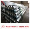 (BSP) tubulação Bs1387-1985 de aço galvanizada