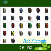 Filamento del PLA del ABS de la impresora 3D del material plástico 1.75m m 3.0m m