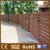 WPC Garten-Gitter-Zaun mit zusammengesetztem hölzernem Material