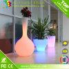 Bac de fleur de arrosage DEL de jardin d'individu coloré des meubles