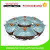 индивидуальная миниая керамическая тарелка выпечки 7-Piece с крышкой и держателем