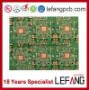 1.0mm 4layers OSP Fr4 steife Leiterplatte gedruckte Schaltkarte der Kommunikations-V0