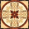Tegel 1200X1200mm van de Vloer van het Kristal van het Tapijt van het Patroon van de bloem Tegel Opgepoetste Ceramische (BMP37)