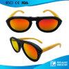 Kühles Sicherheitsglas-Cer-natürliche hölzerne Sonnenbrillen