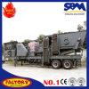 Grande capacidade 1000 toneladas por o esmagamento portátil do cone da hora