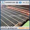 Gezackte schwarze Stahlstandardvergitterung für Stahlkonstruktion-Plattform-Fußboden